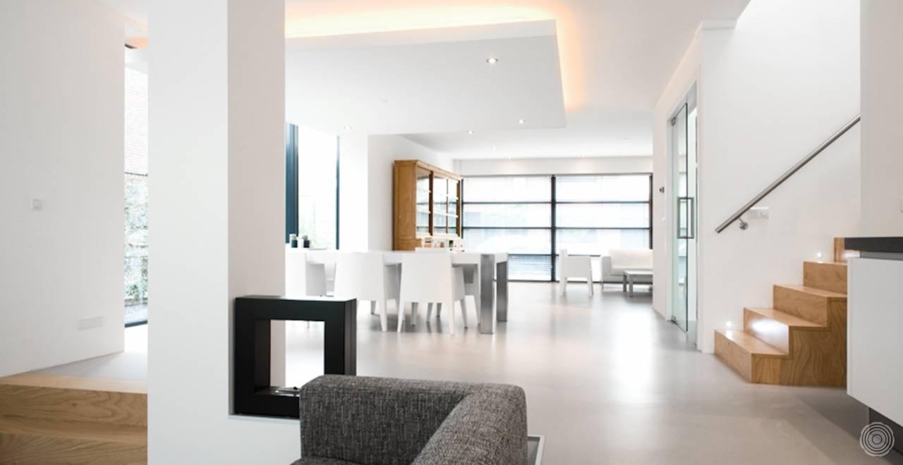 Fußboden Im Betonlook ~ Kunststoffböden: einheit in interieur senso gussböden
