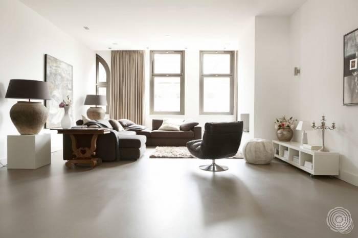 polyurethanboden schaffen sie einheit in ihrem interieur senso senso gussb den. Black Bedroom Furniture Sets. Home Design Ideas
