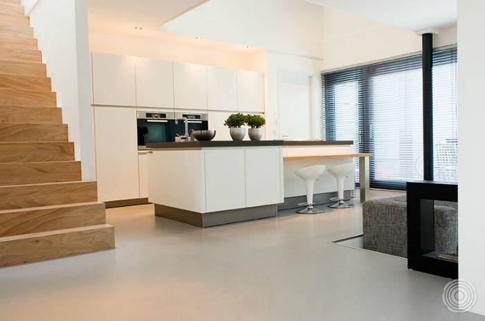 Fusion Design Keuken : Gussboden küche: fugenlose gussböden für küchen u2013 senso