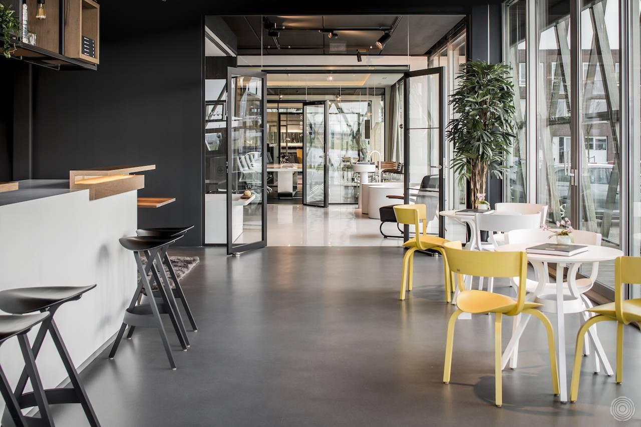 Bemerkenswert Fugenloser Fußboden Galerie Von Bodenbelag | Senso