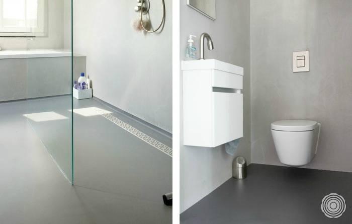 Badkamer Los Bad : Gussböden für bäder und duschräume senso gussboden